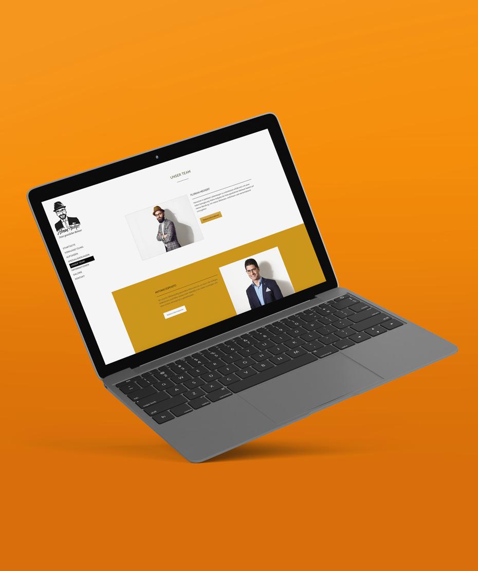 """Website-Erstellung für """"Heckert"""""""