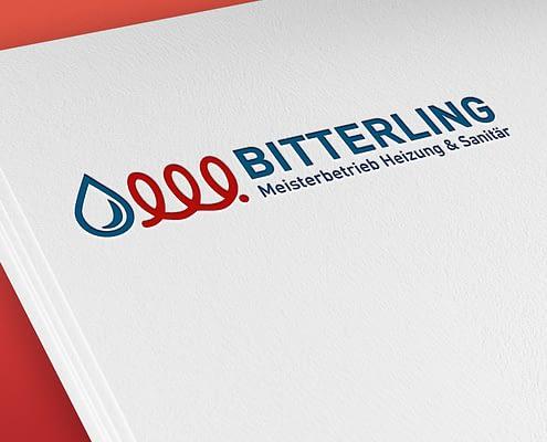 Logoentwicklung Fa. Bitterling