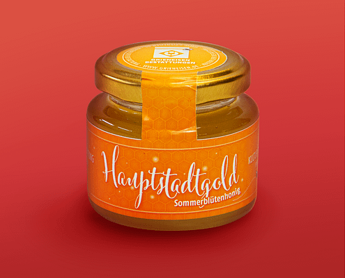 "Markene-Entwicklung ""Hauptstadtgold"" als Werbeartikel"