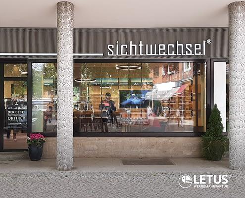 """Leuchtwerbung in LED Technik für """"Sichtwechsel"""""""