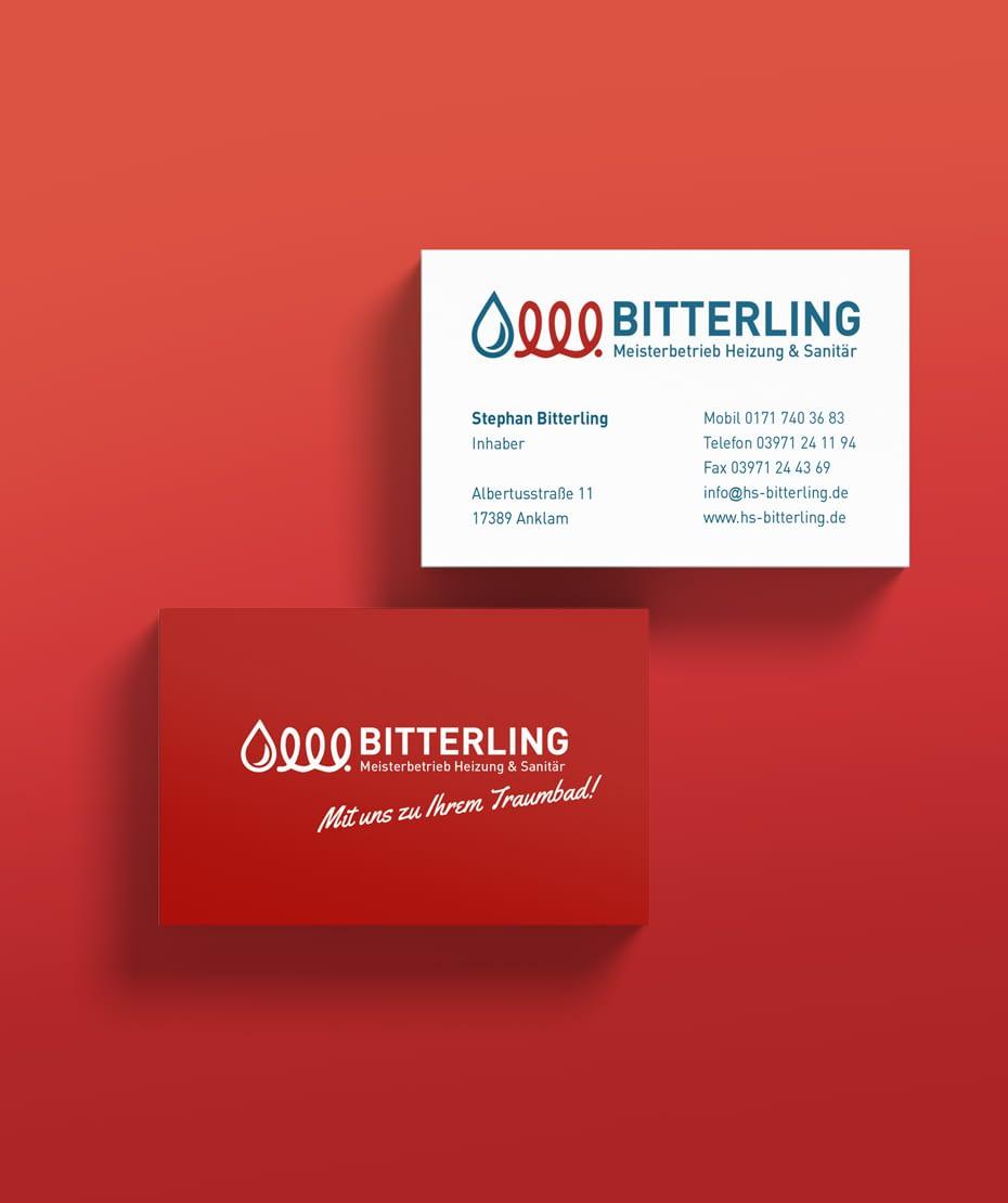 Logoentwicklung & Visitenkarten-Druck von Letus