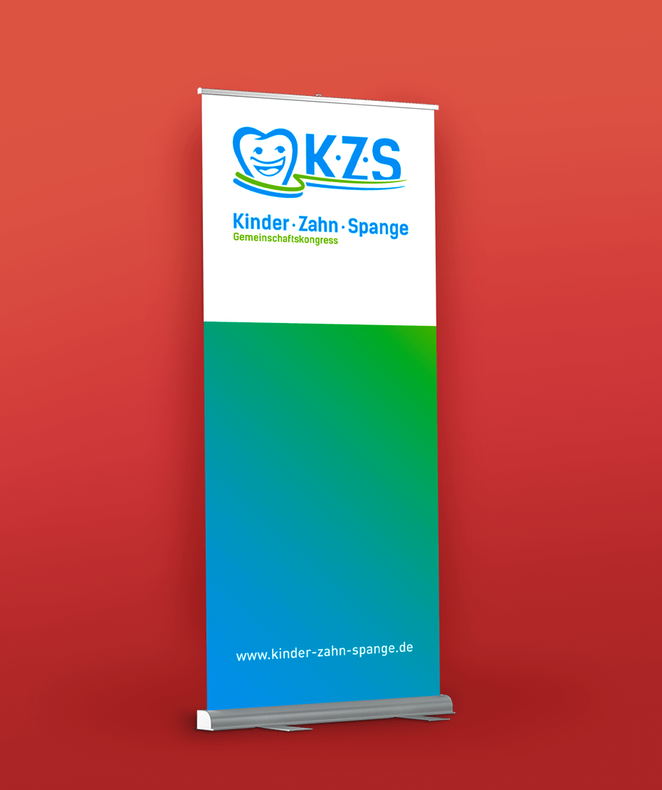 Werbemittel & Logodesign von Letus für KZS Kongress