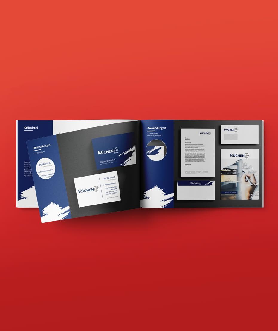 Corporate Design für KüchenART von Letus