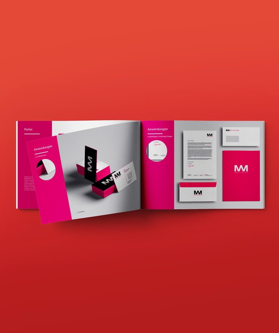 Corporate Design Firma MWM-Solutions