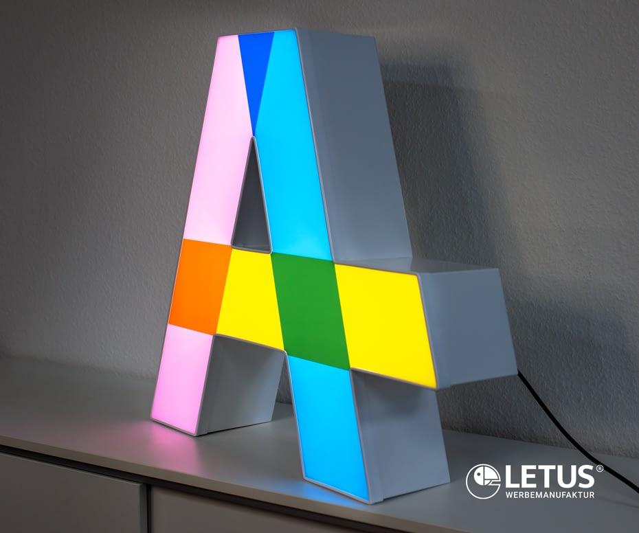 Leuchtreklame Einzelbuchstabe