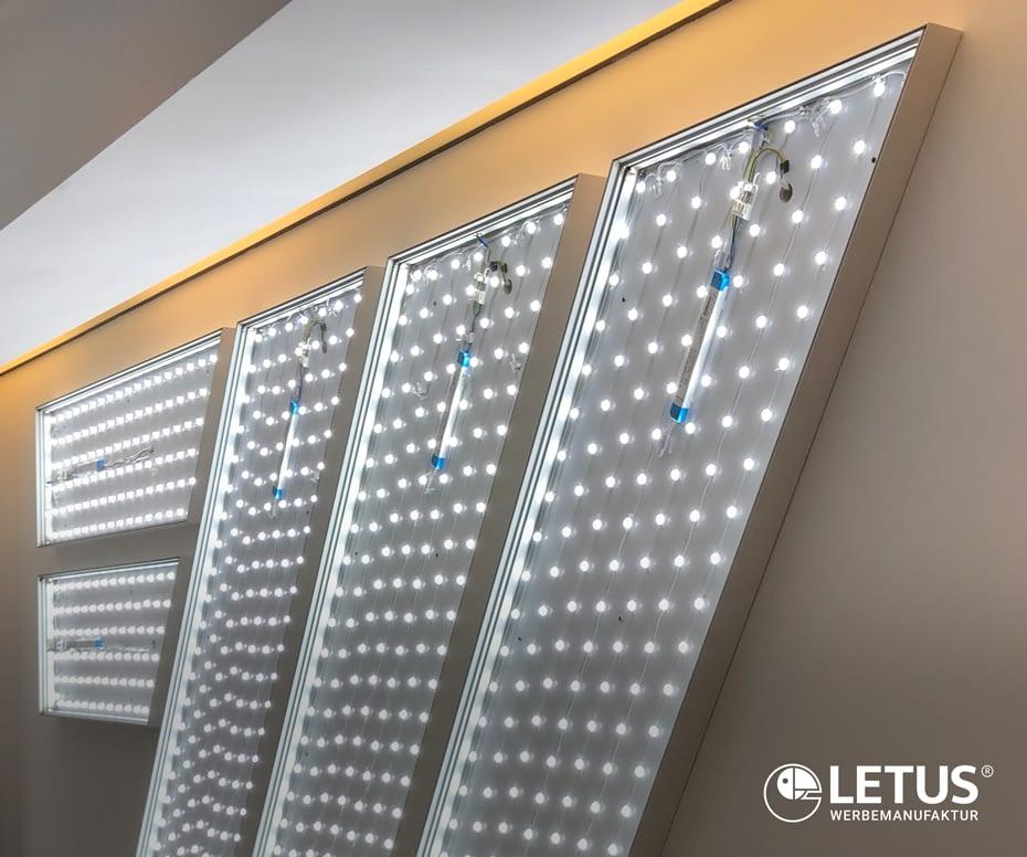 LED-Technik für gleichmäßige Ausleuchtung
